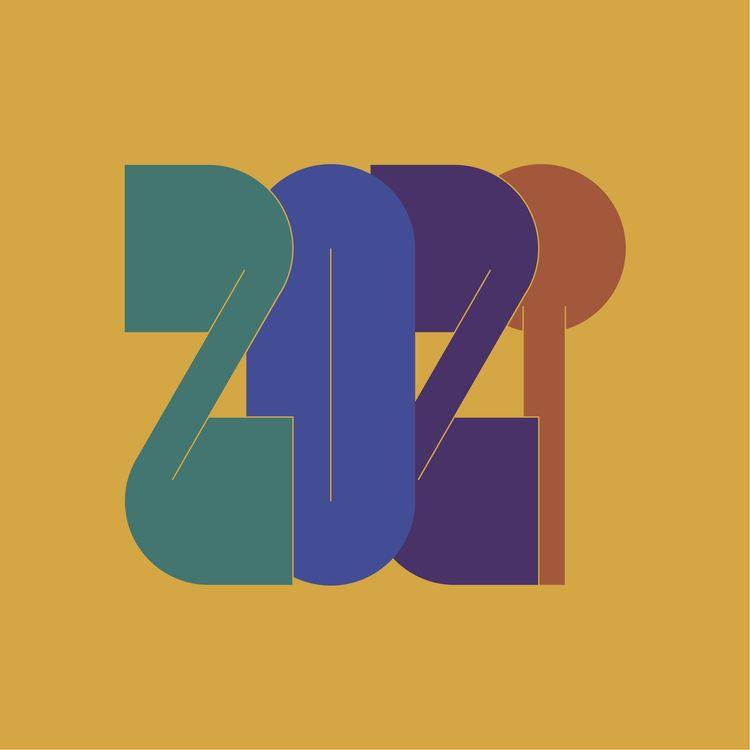 2021 - Typography, Lettering - curiousflux | ello