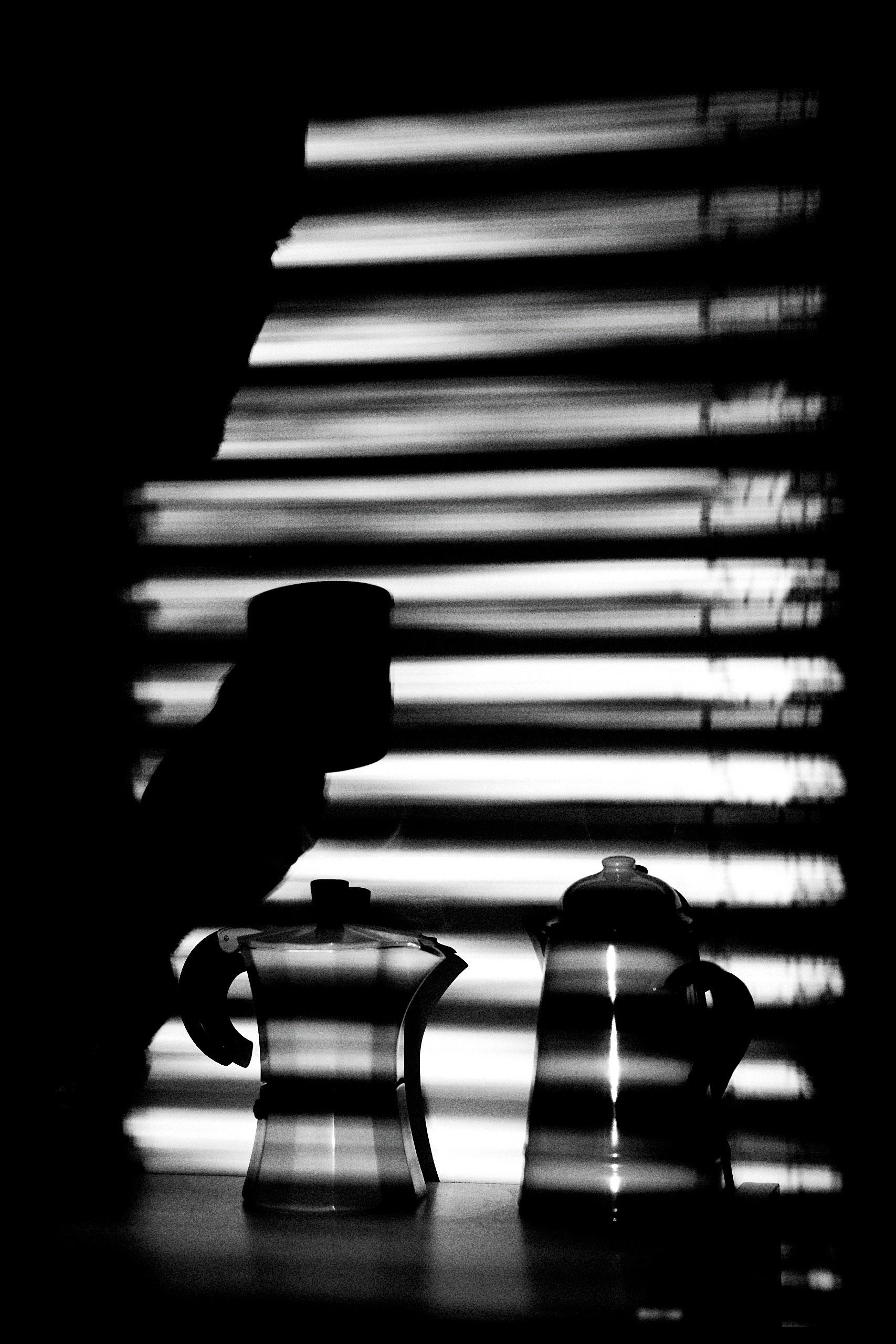 Morning Coffee Matt Bliss - blackandwhite - mattbliss   ello