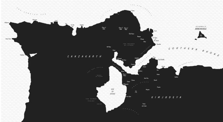 Local flat map Savage Errands  - elsuon | ello