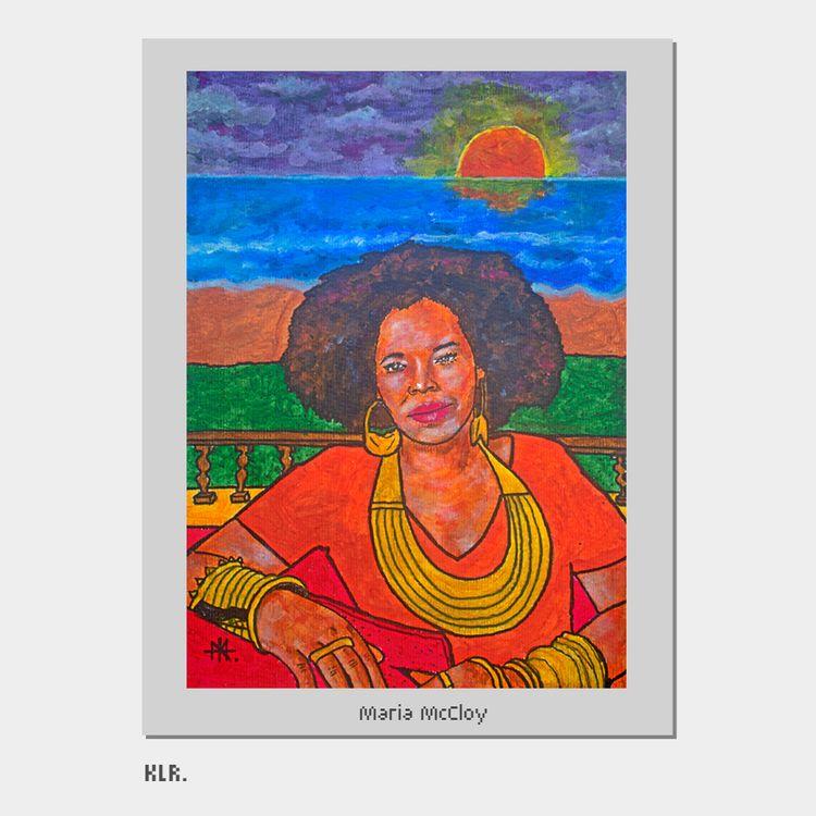 Maria McCloy, 2021 Acrylics A4 - kadi_sabi | ello
