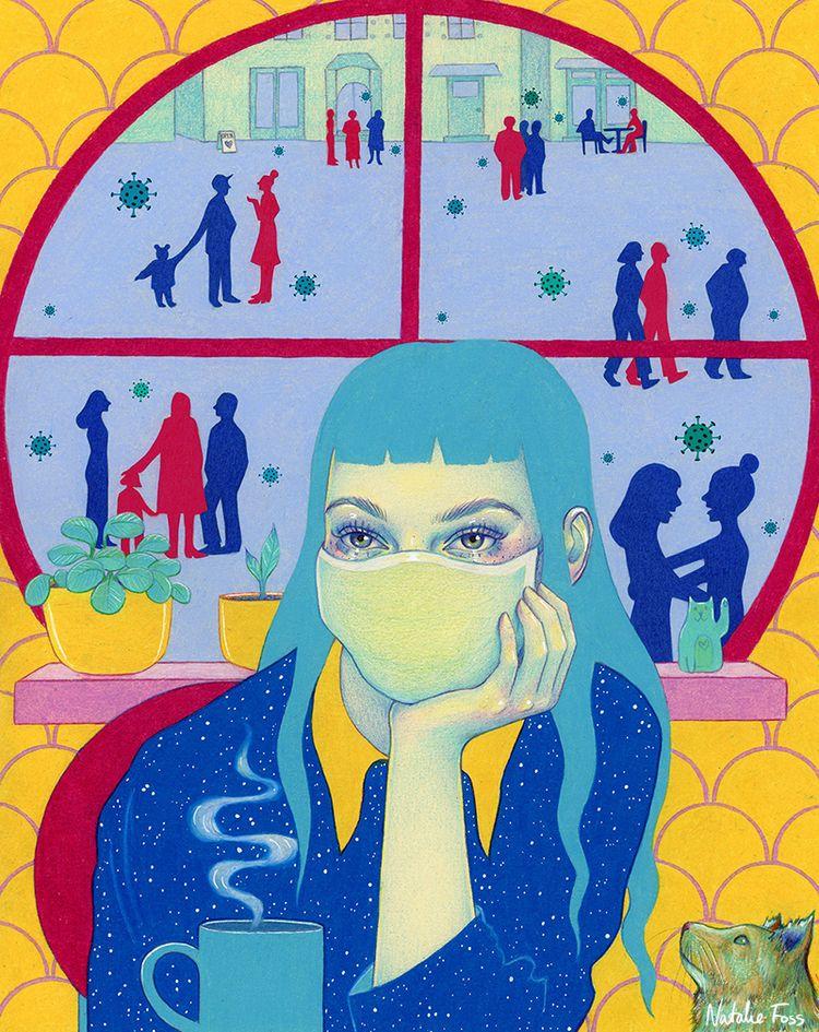 Illustration Noema Magazine art - nataliefoss | ello