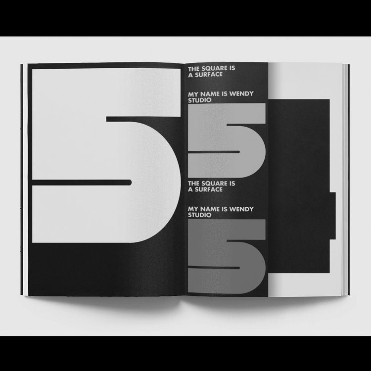 Turnover Typeface / Layout - typography - my_name_is_wendy | ello