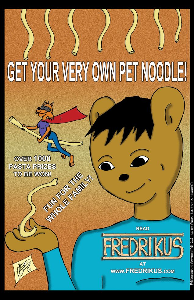 Read FREDRIKUS - webcomics, comics - apfuchs   ello