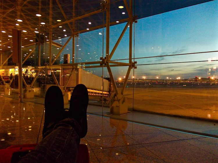 MI - BCN altri tempi - fly, airport - noemilzn   ello
