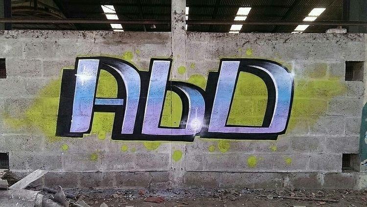Asbestos ruined life - zespi, graffiti - zespi   ello