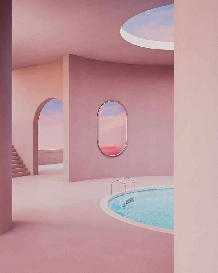 Hidden Pool - 3D, redshift - betraydan | ello