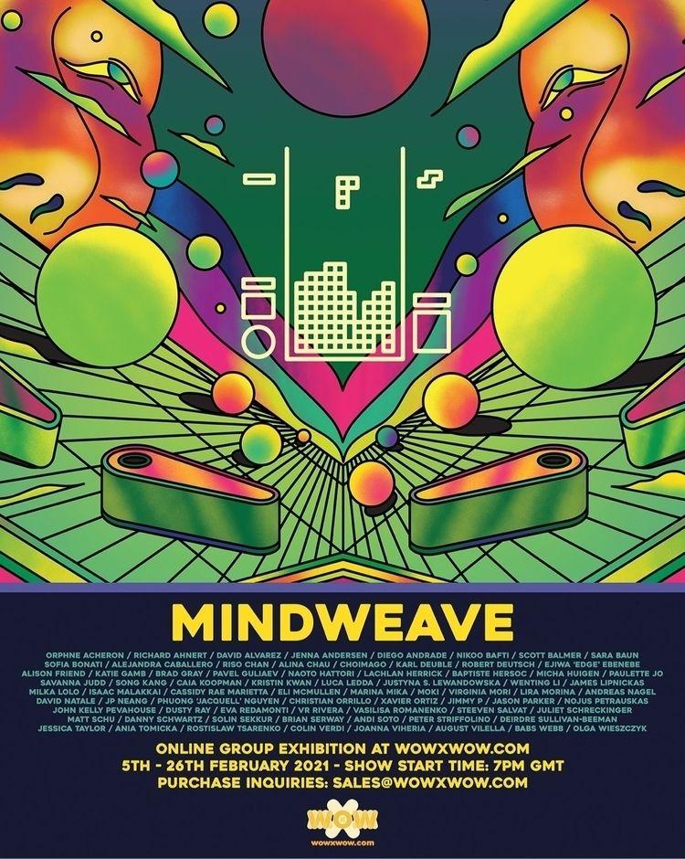 opening Mindweave Friday! sneak - scott_balmer | ello