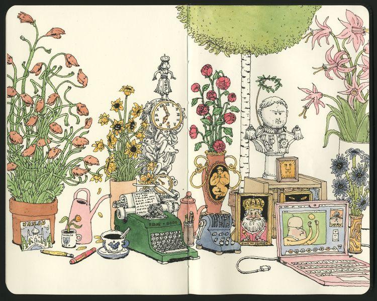 writers desk - mattiasadolfsson | ello