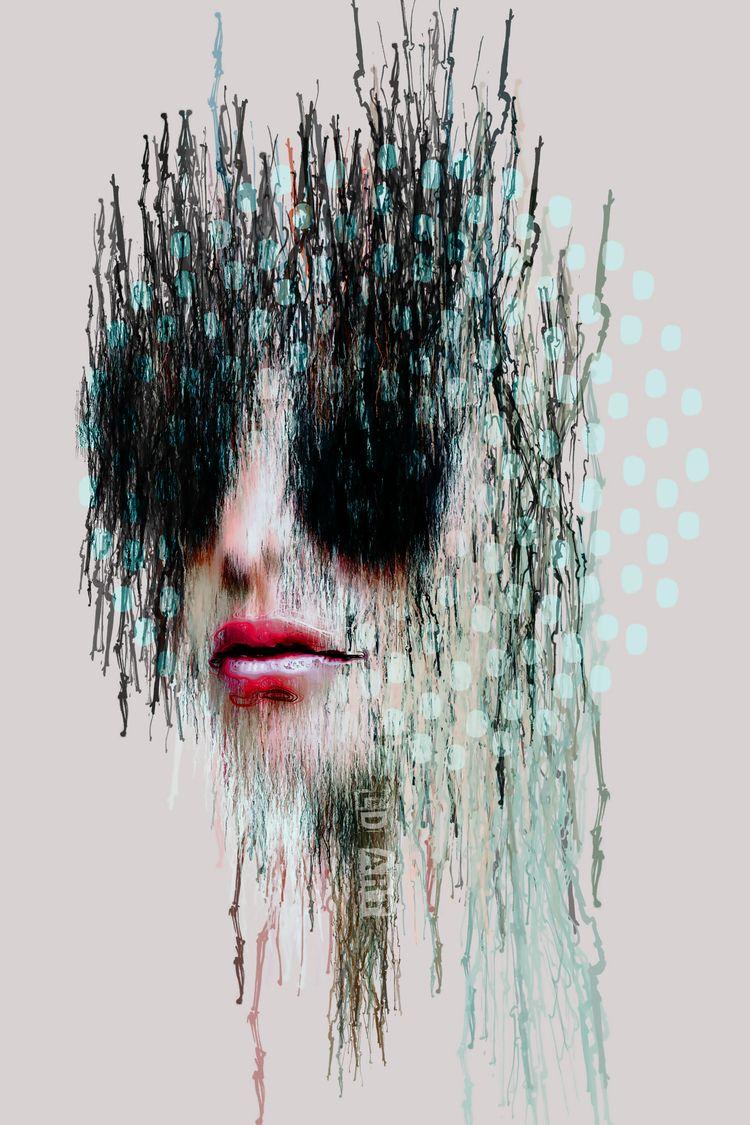 ART! - Sleet website - artwork, digitalart - lucydyerart1 | ello