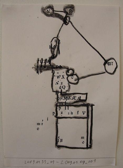 Letraset concrete poetry drawin - der | ello