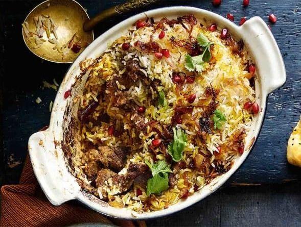 Spiced rice lamb visit - afghan_central - afghancentral | ello