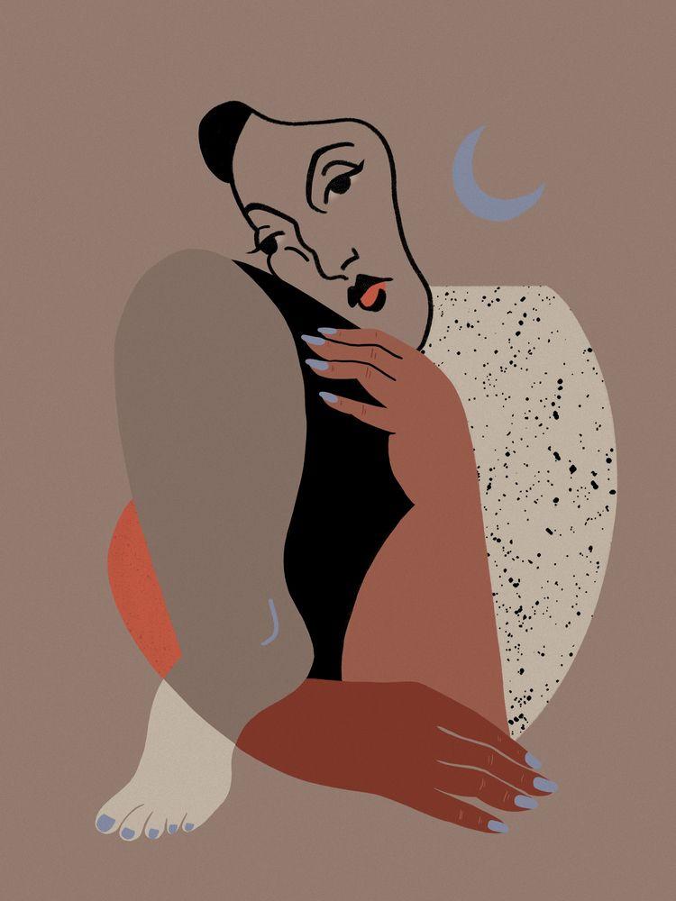 piece love. Instagram - illustration - heyambermorgan | ello