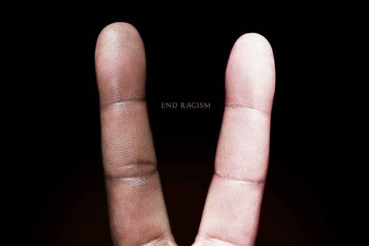 Racism Photograph black white f - globalnewsart | ello