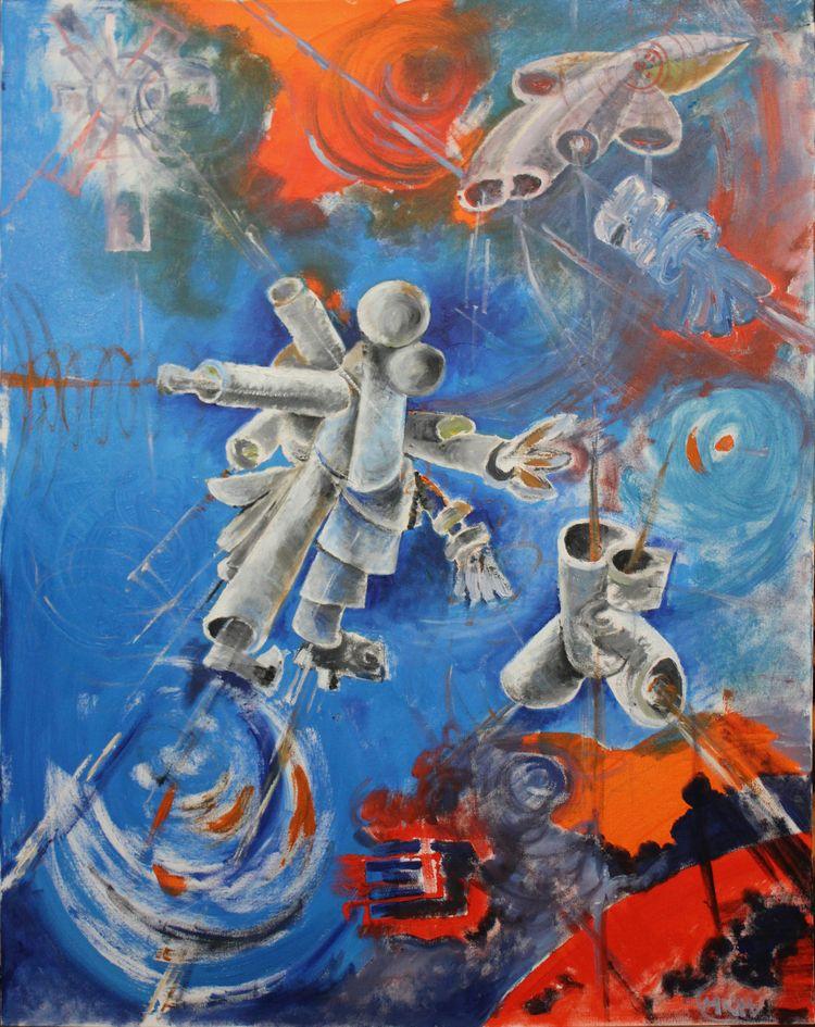 Mark Khidekel paintings paintin - racc   ello