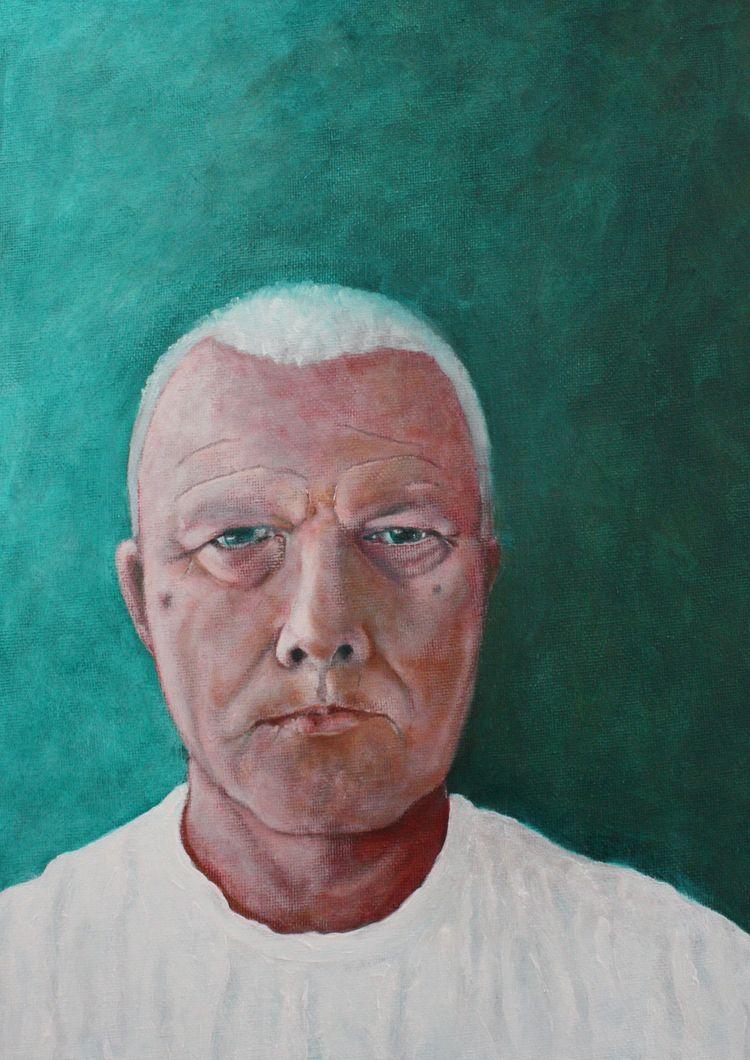 Portrait Oil Canvas Board 33 24 - burningbuddha   ello