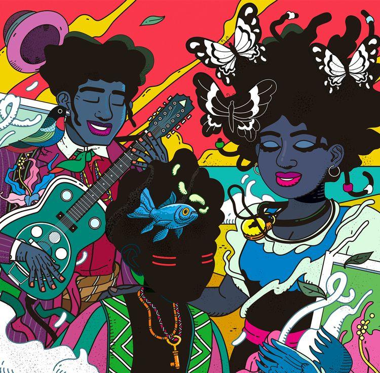 Bio: illustrator musician gradu - cabana_abbade | ello
