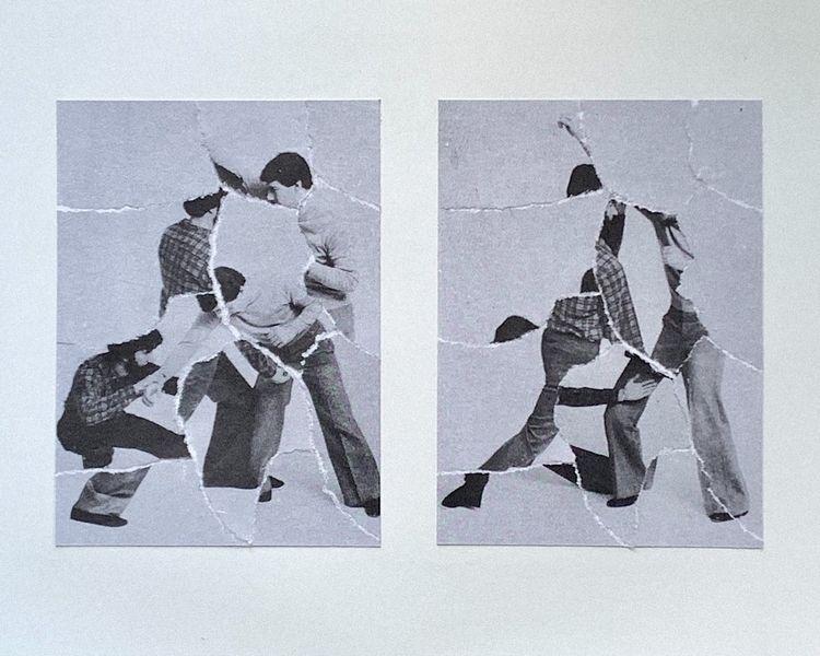 Unexpressed Anger - collage, art - filmarra | ello