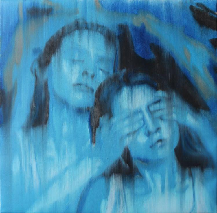 Morning, 60x60cm, oil canvas, 2 - rutavm | ello