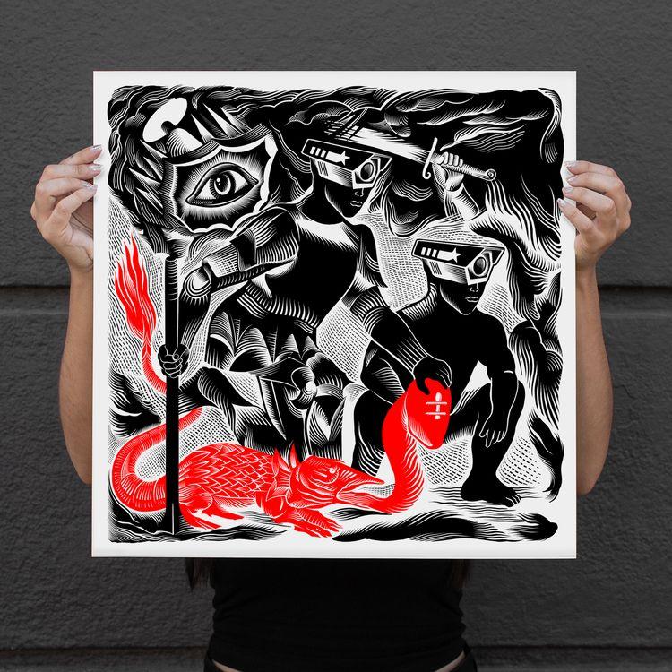 Check latest print Ello friends - tomo77 | ello