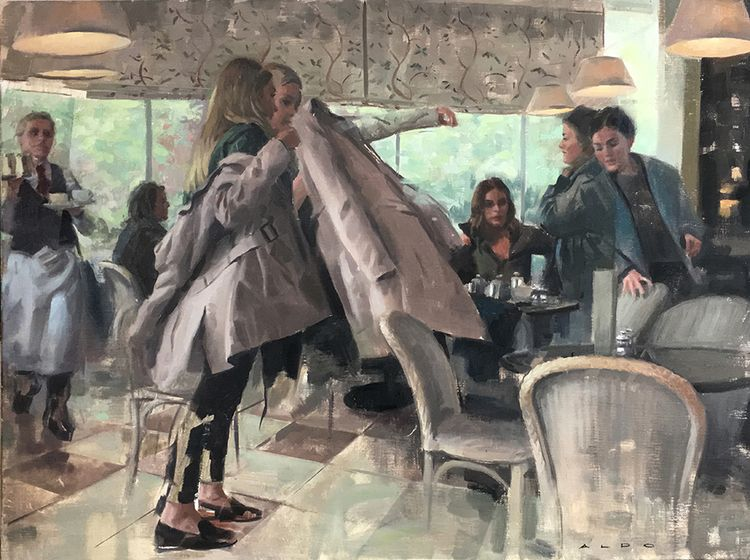 Amazing paintings British figur - nettculture | ello