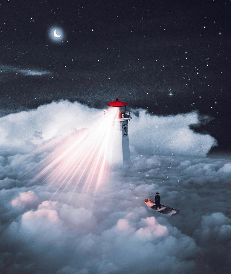 Lighthouse!  - photoshop, art, design - nick_asphodel | ello
