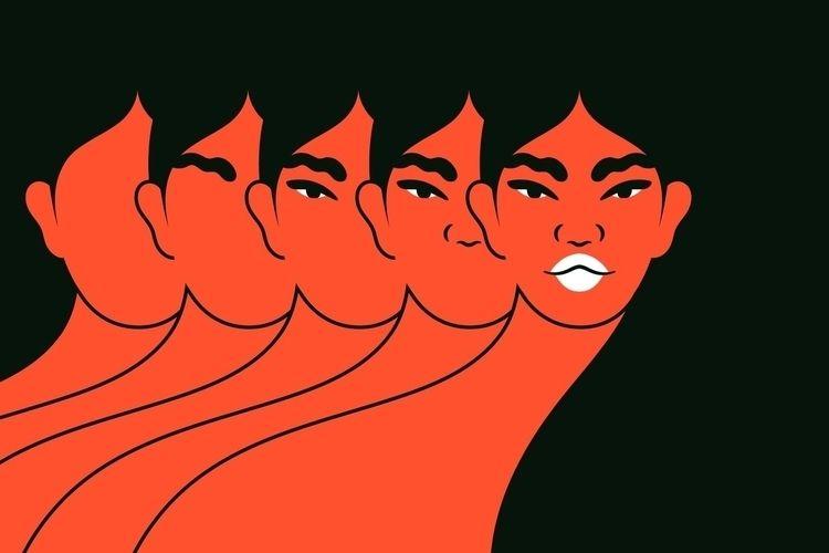 Illustration York Times article - camixvx | ello