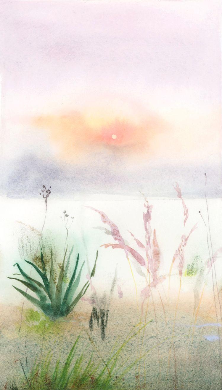 watercolor soft pastel paper, 2 - jennyronen | ello
