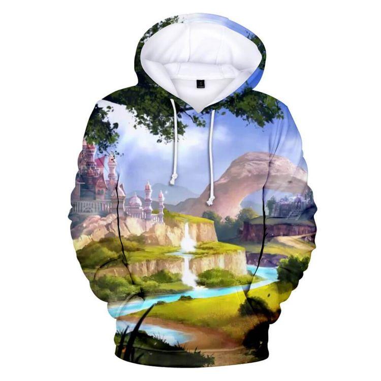 Raya Dragon 3D Hoodie Shirt - shiningtshirts   ello