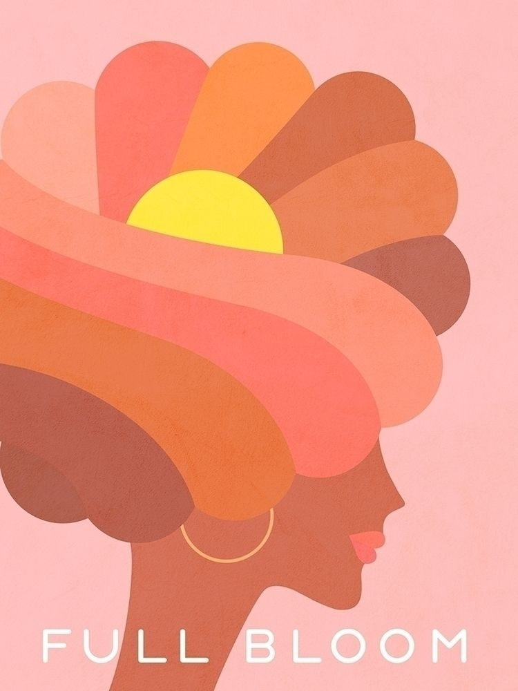 Full Bloom - Girl Power Portrai - dominiquevari | ello