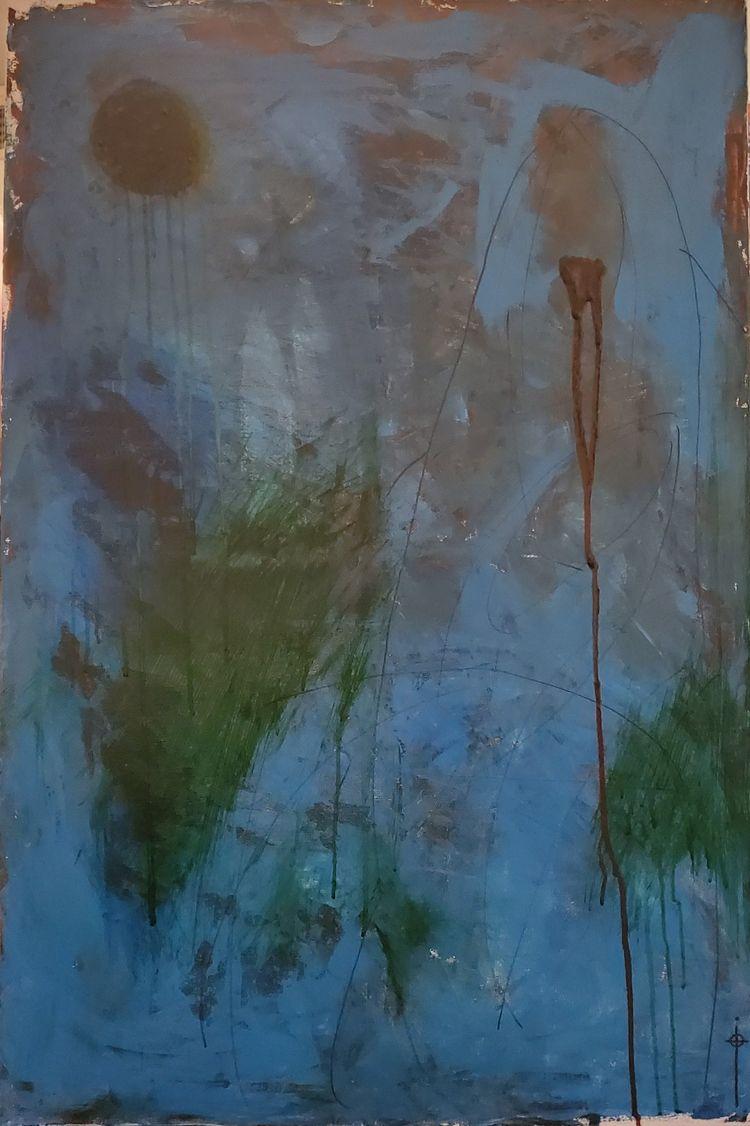Occultatum 24 36 acrylic canvas - toilz | ello