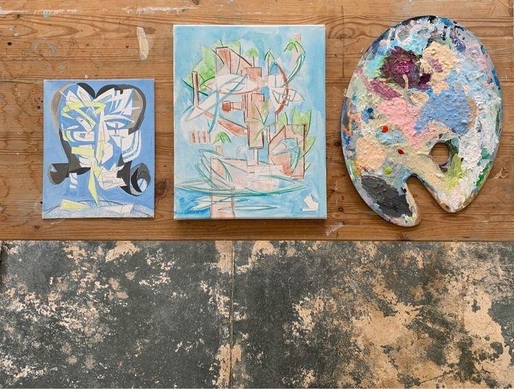 workingpainter, paintings, sketching - joeyderuy | ello