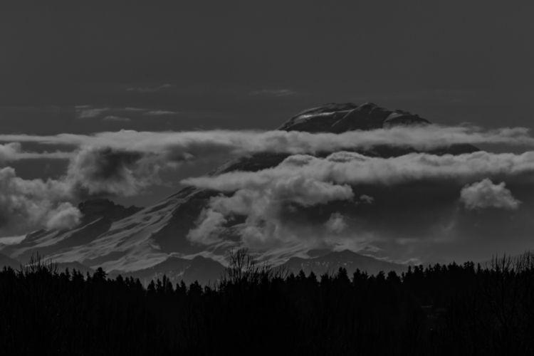 Mount Rainier 2019 03 05 Tukwil - davidseibold | ello