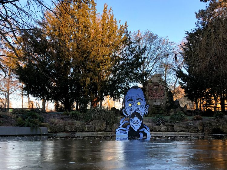 Installation local duck pond - ate - sidas_ate | ello