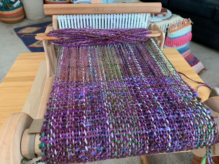 Weaving, handspun, handspunyarn - jessannes | ello