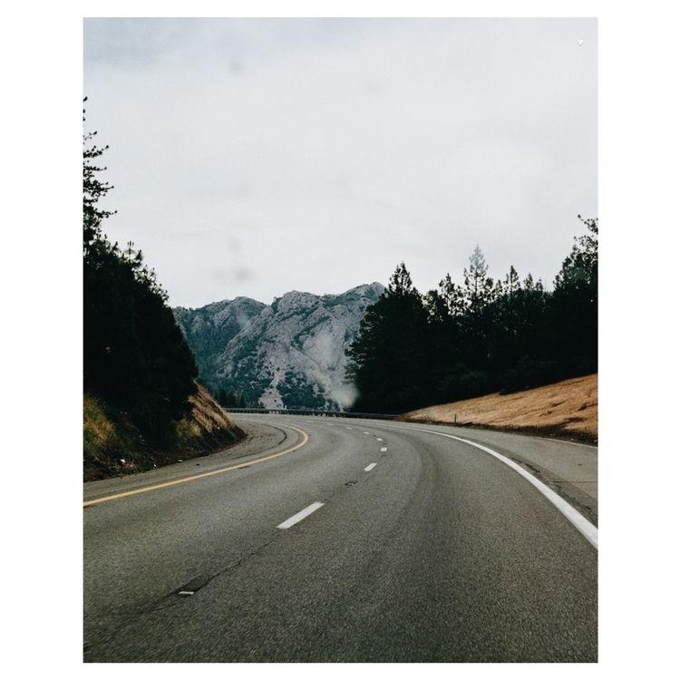 open road. heading California n - ivankosovan   ello