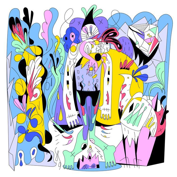 'Tulpa' (2021 - illustration,, art, - jbartell32 | ello