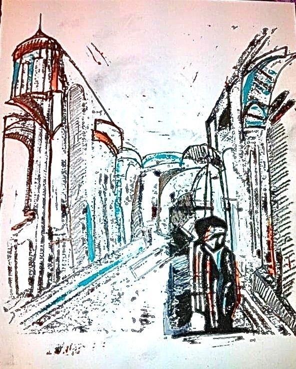 Uzbek-series: mixed media 2012 - petermoors | ello