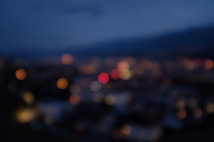 Innsbruck City lights - artimages | ello
