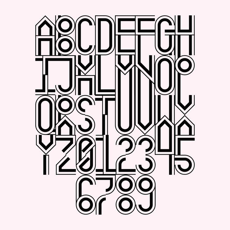 Rosario - typography, typedesign - gabrielnazoa | ello