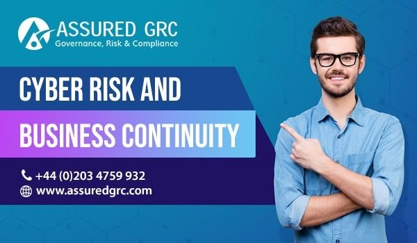 Cyber Risk Business Continuity  - assuredgrc   ello