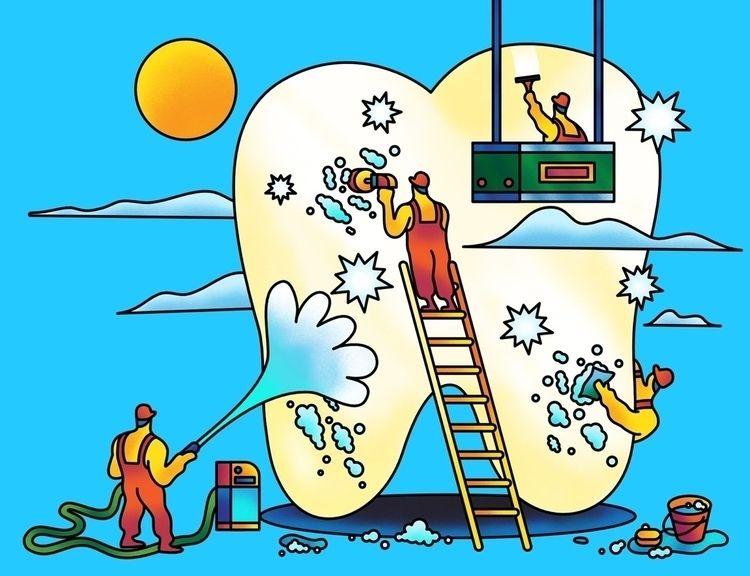illustration article talking te - scott_balmer | ello