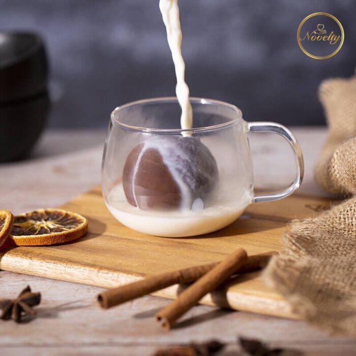 Hot Chocolate Bomb Recipe   Nov - yournovelty   ello