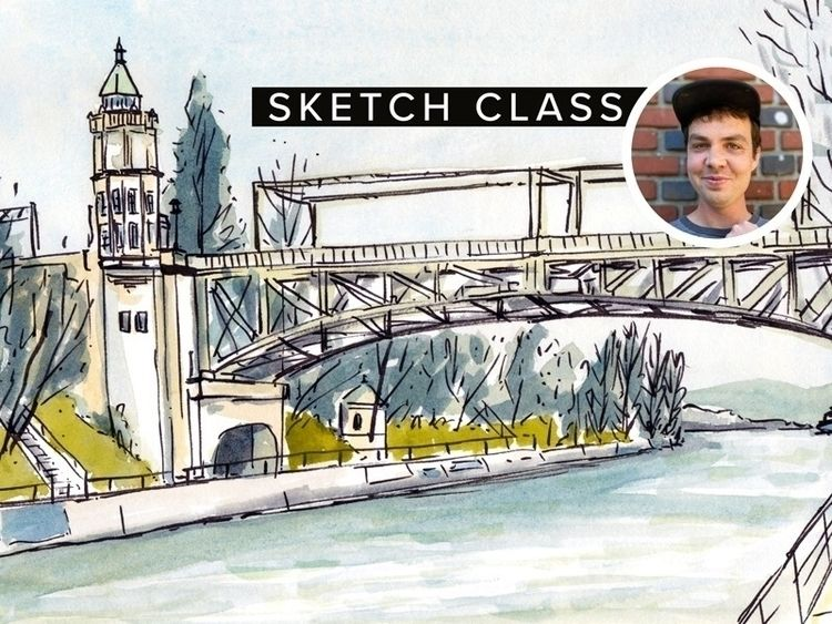 Hey! teaching sketch classes yo - alexander_mostov | ello