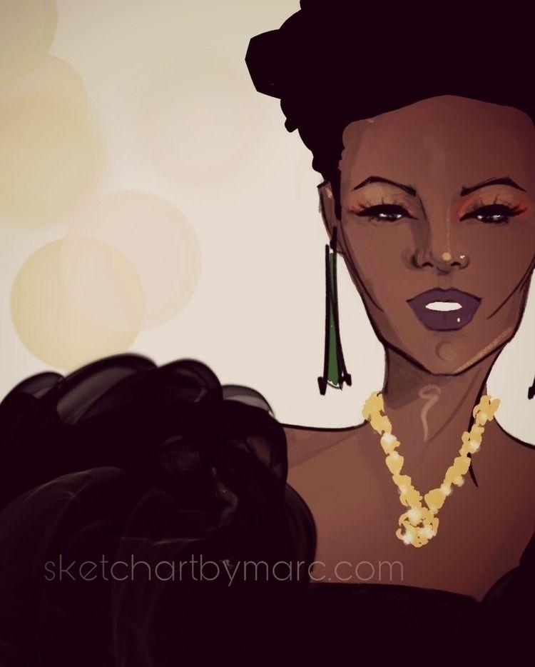Variation Inspired - sketch, fashionillustration - sketchartbymarc | ello