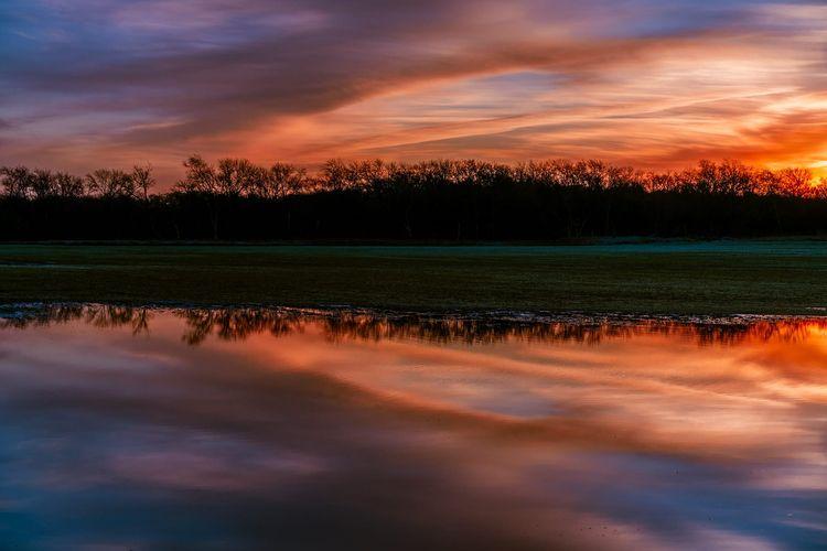 Placid Dawn sun rises Hagerman  - 75centralphotography | ello