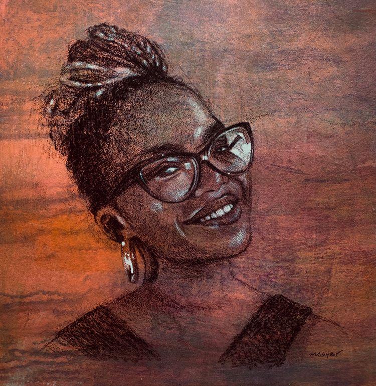 'Oti Mabuse' 25 cm Pastel 2021  - micheleashby | ello