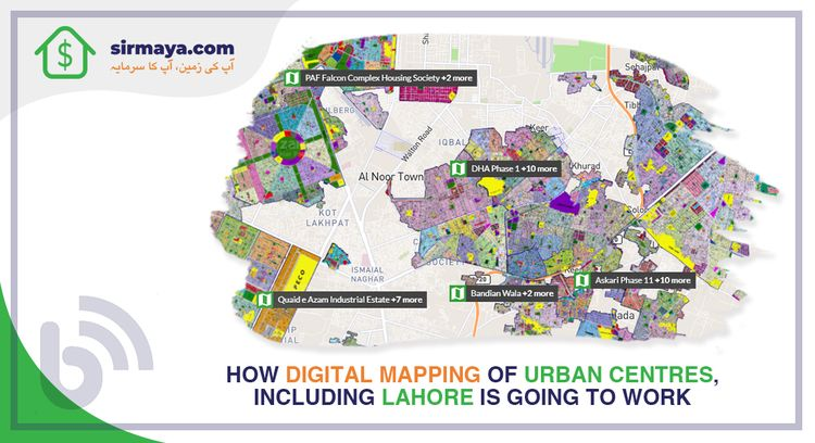 Digital Mapping Urban Centres,  - hadiali   ello