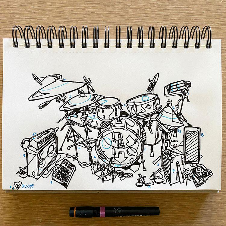 Morning Sketchbook Drawing Temp - aaronkraten | ello