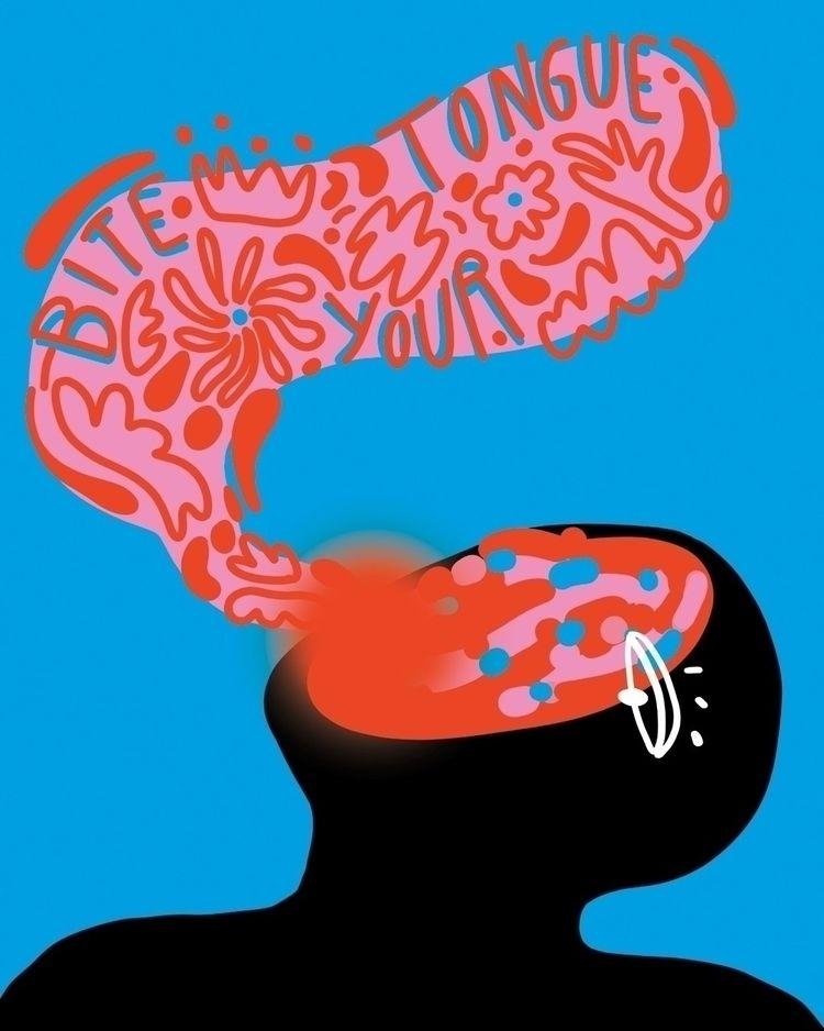 shut - illustration, digitalart - maganagoesbold | ello