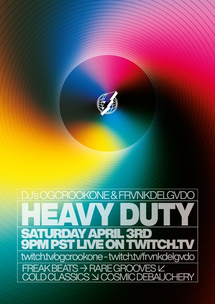 Graphics months Heavy Duty - poster - madleif | ello